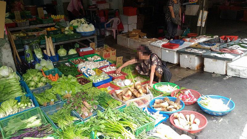 台湾のディープな市場