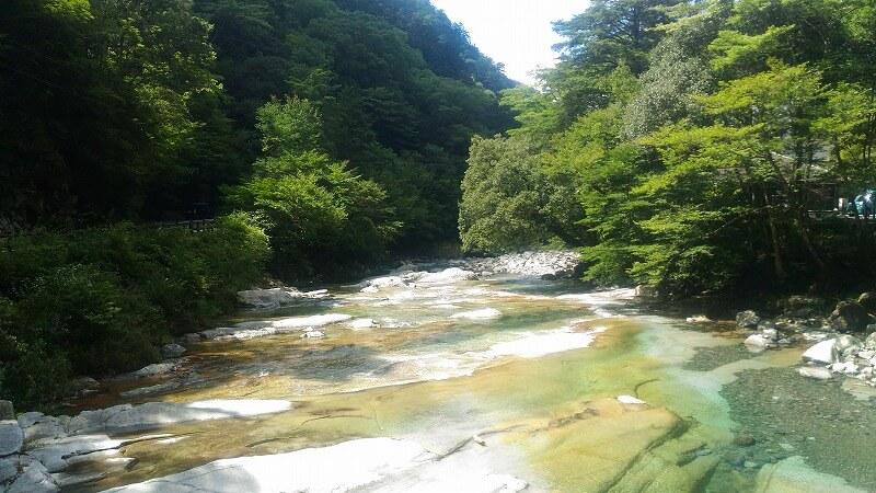 水がキレイな川