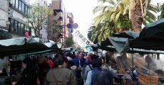 高知の日曜市・ひろめ市場周辺に行ってきた。中心地に行くなら外せない観光スポット